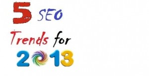 top seo trends of 2013