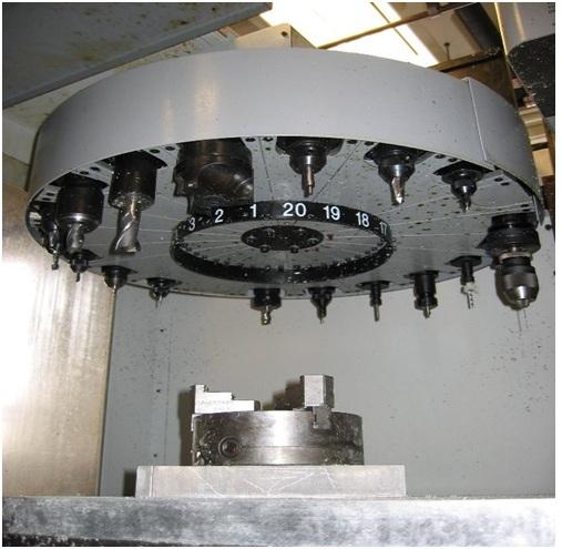 milling machine work