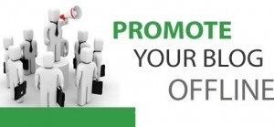 promote your website offline